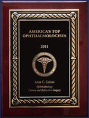 2011 America's Top Ophthalmologists Award