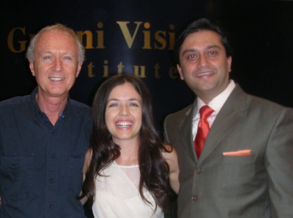 Dr.Martin and Giselle. Australia