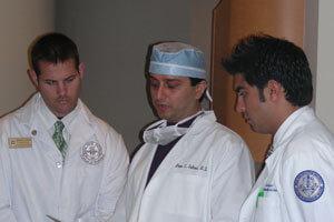 Dr. Gulani Teaching to Other Eye Surgeons