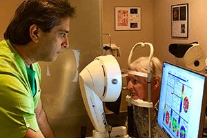 Dr. Gulani Performing Surgery