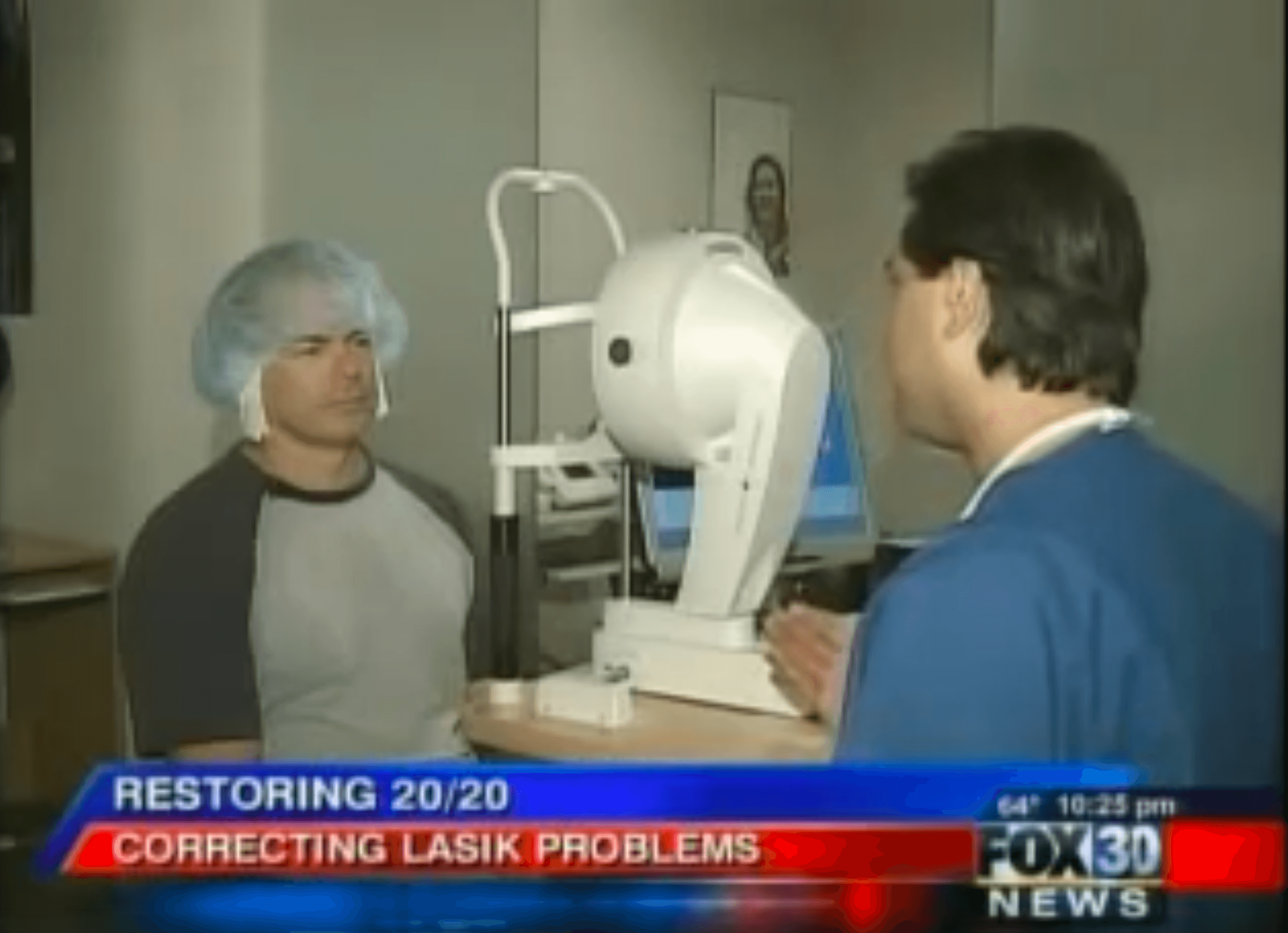 Police Officer Lasik Complication Fox News interview