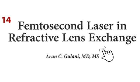 Femtosecond Laser in Refractive Lens Exchange