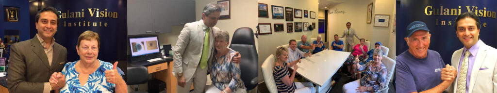 Corneal scar patients corrected by Dr. Gulani from all over the world came back to Gulani Vision Institute to celebrate one another.