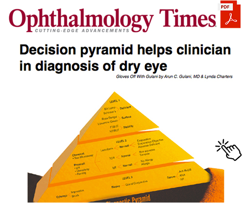 Ophthalmology Times - Decision pyramid helps clinician in diagnosis of dry eye