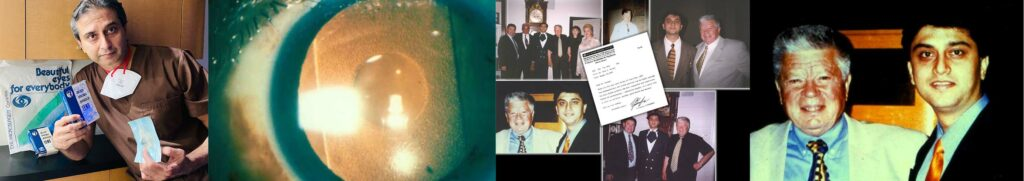 Dr. Gulani with late Dr. Fyodorov from Russia whose co-polymer lens implant invention was the original technology that evolved into the Visian ICL.