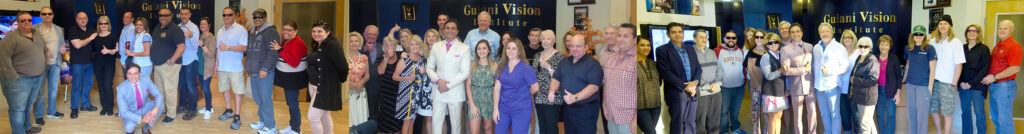 Dr. Gulani and some of his many patients