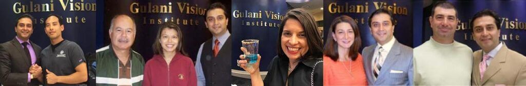 Gulani with some of his many patients