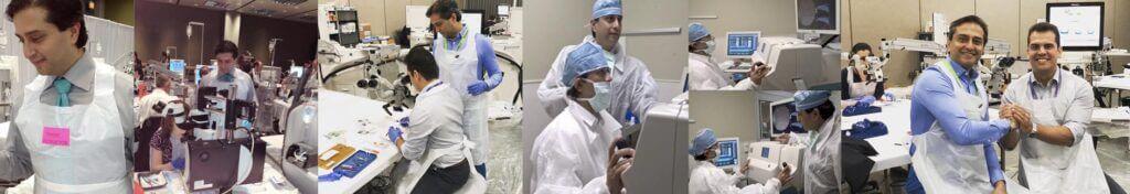 Dr. Gulani hard at work
