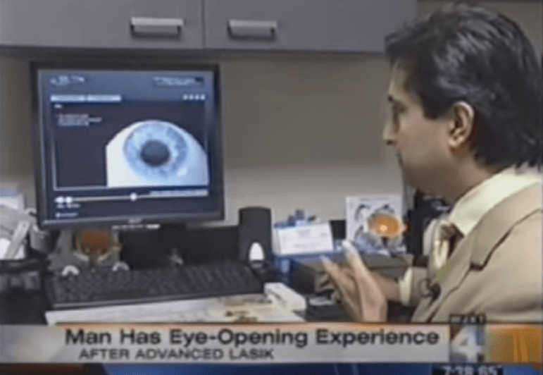 LASIK Complication Reversal: In the NEWS