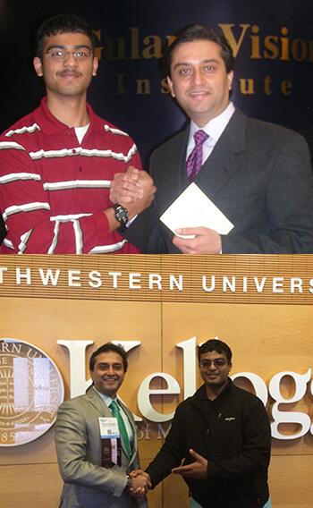 Dr. Gulani With Mohan Ravi