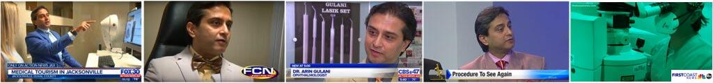 Dr. Gulani on TV