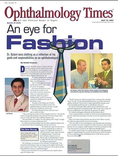 Ophthalmology Times - An Eye For Fashion