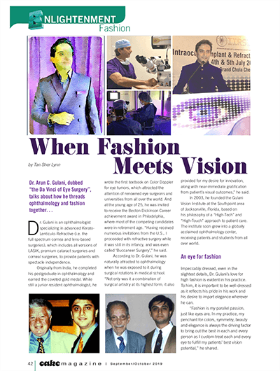 Enlightenment Fashion - When Fashion Meets Vision