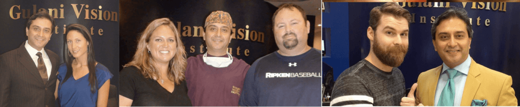 Dr. Gulani with his Jacksonville LASIK Patients