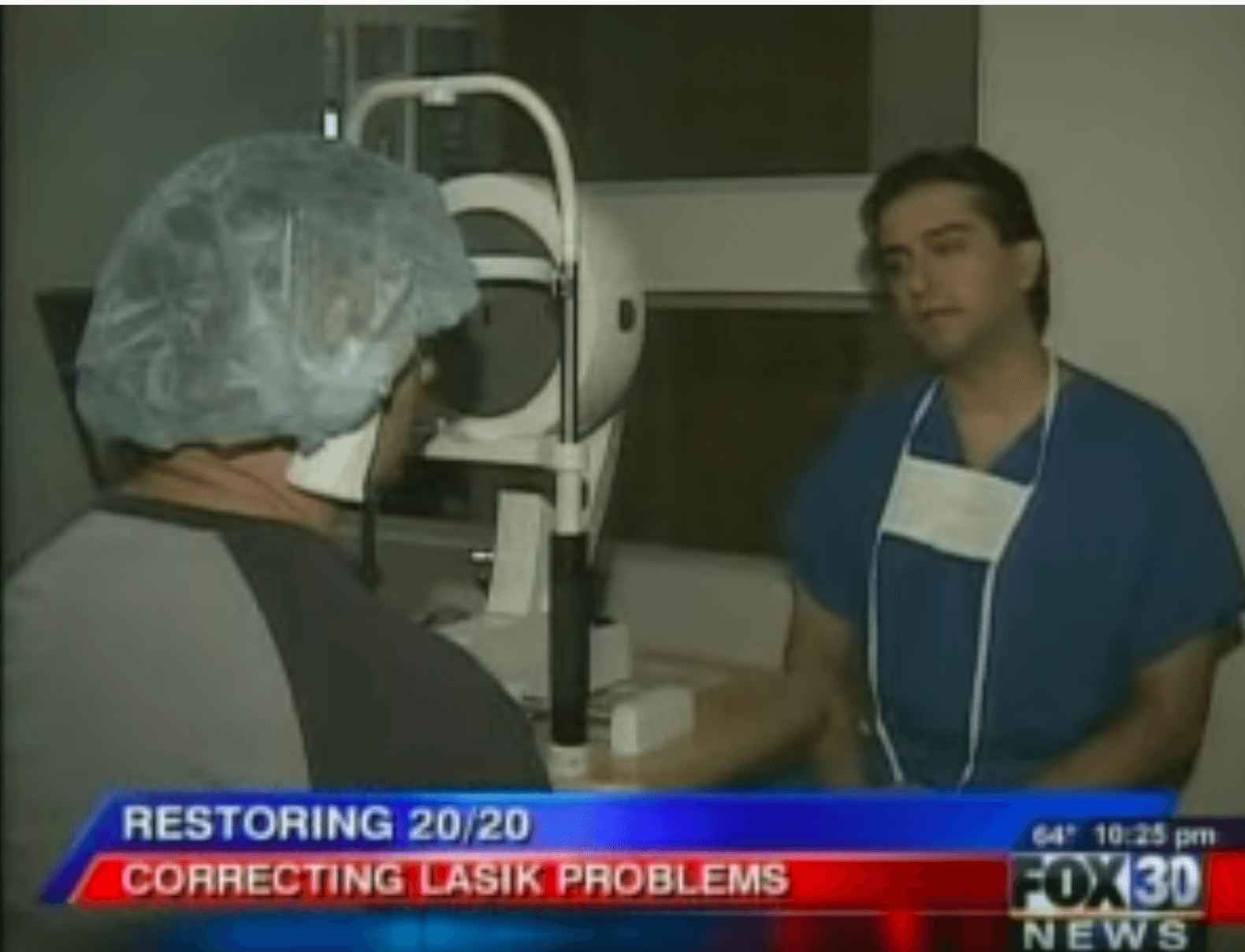 Lasik Complication Fox News interview