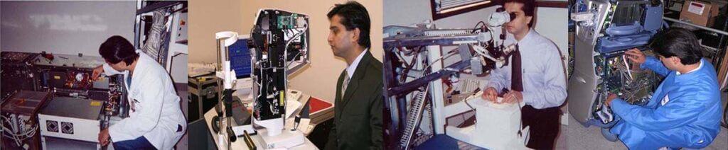 Dr. Gulani working