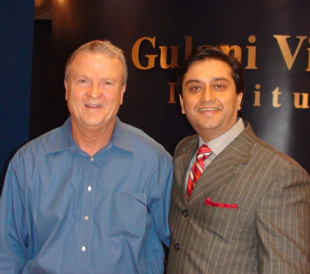 Dr. Gulani and another happy patient
