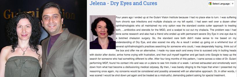 Dr. Gulani and Jelena