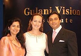 Melissa and Dr. Gulani