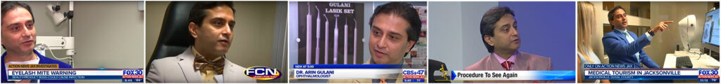 ophthalmologist dr gulani speaking on television